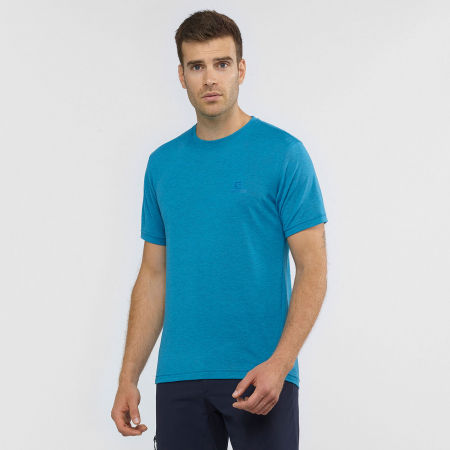 Pánske tričko - Salomon EXPLORE SS TEE M - 2