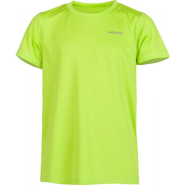 Lewro OCTAVIO svetlo zelená 116-122 - Chlapčenské tričko