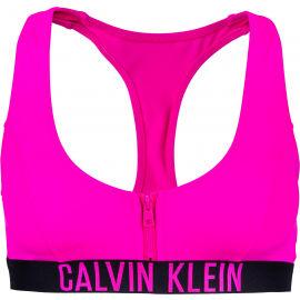 Calvin Klein ZIP BRALETTE-RP - Dámsky vrchný diel plaviek