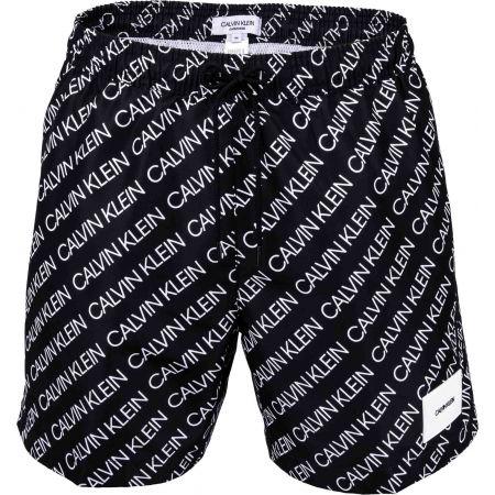Мъжки бански - шорти - Calvin Klein MEDIUM DRAWSTRING-PRINT - 2