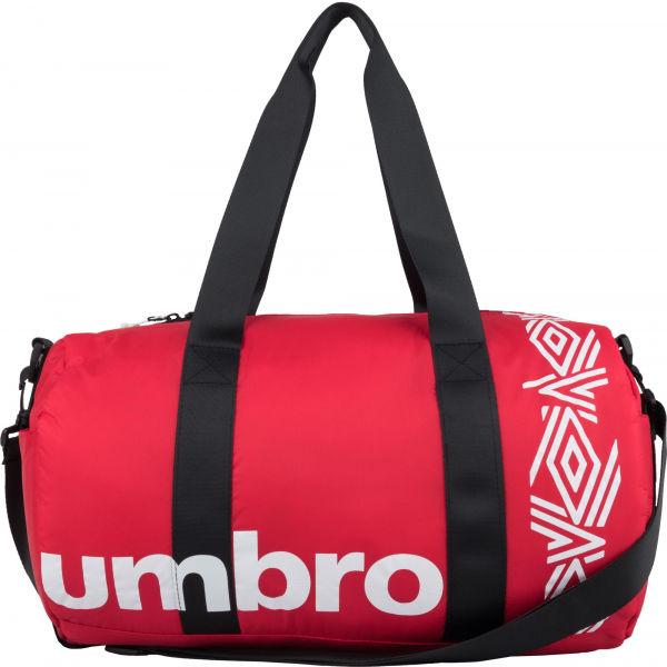 Umbro PADDED RIPSTOP BARREL BAG červená NS - Sportovní taška