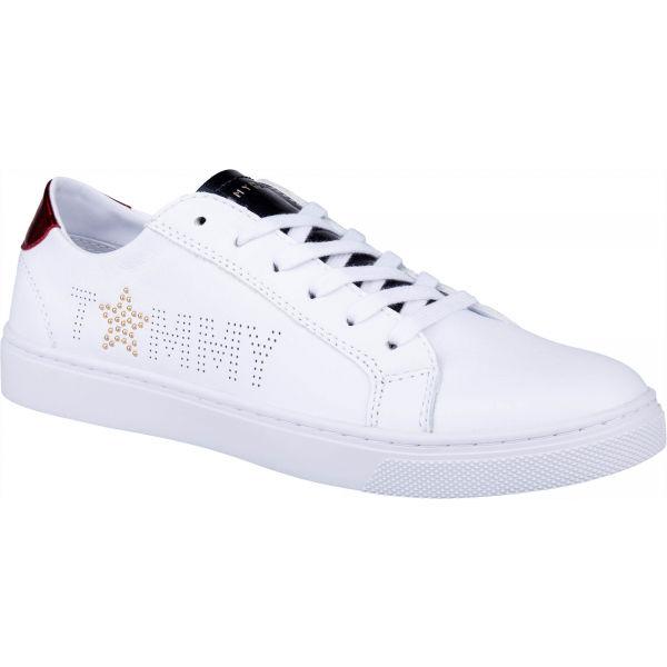 Tommy Hilfiger STAR METALLIC SNEAKER biela 41 - Dámske tenisky