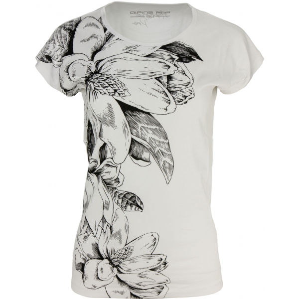 ALPINE PRO FAHDA bílá L - Dámské triko