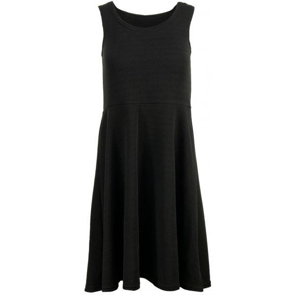 ALPINE PRO CALLIASA černá XL - Dámské šaty