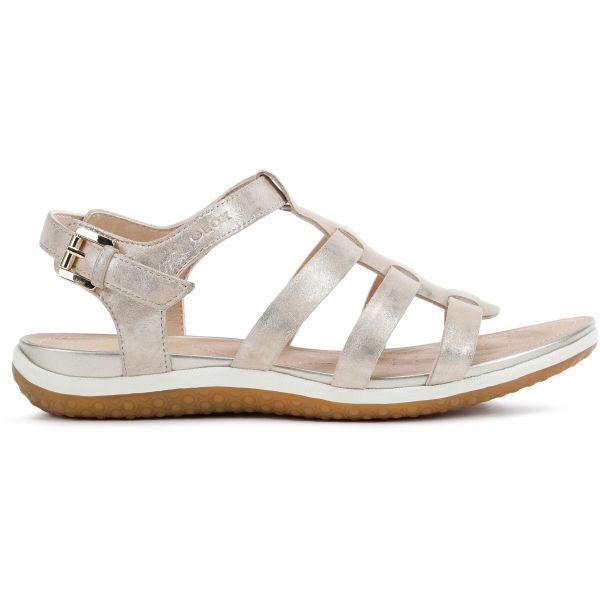 Geox D SANDAL VEGA béžová 39 - Dámské sandále