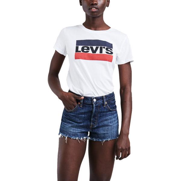 Levi's THE PERFECT TEE bílá L - Dámské tričko