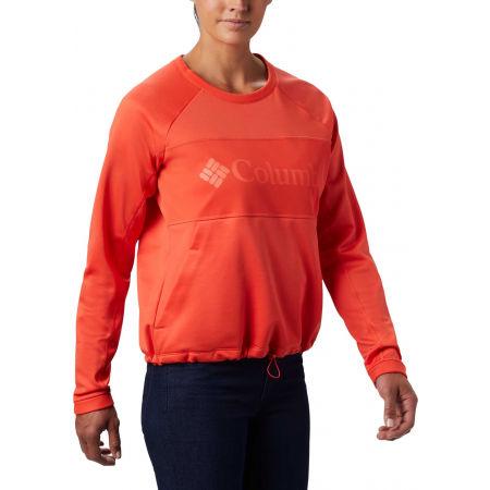 Damen Sweatshirt - Columbia WINDGATES FLEECE CREW - 6