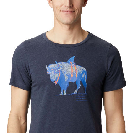 Pánske tričko - Columbia M PINEY FALLS™ GRAPHIC TEE - 4