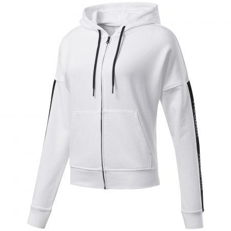 Reebok TE LINEAR LOGO FULLZIP - Women's sweatshirt