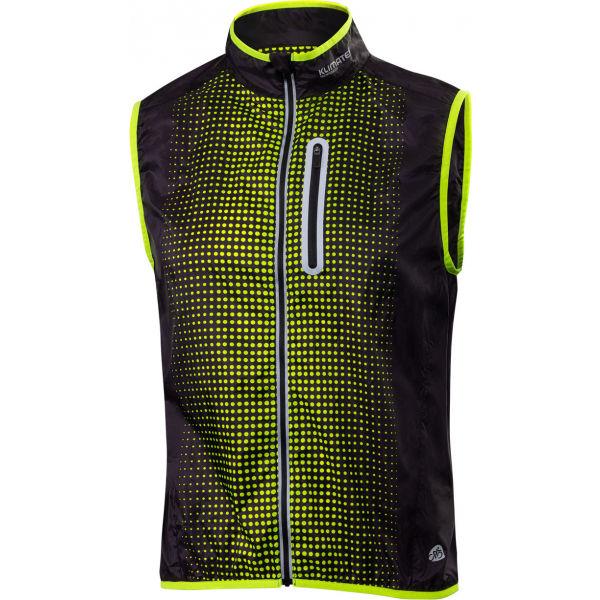 Klimatex ALTO žlutá 2xl - Pánská cyklistická vesta