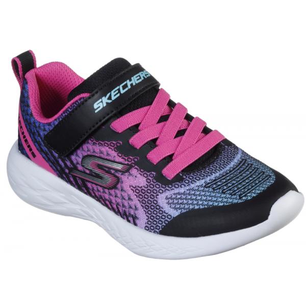 Skechers GO RUN 600 černá 34 - Holčičí tenisky
