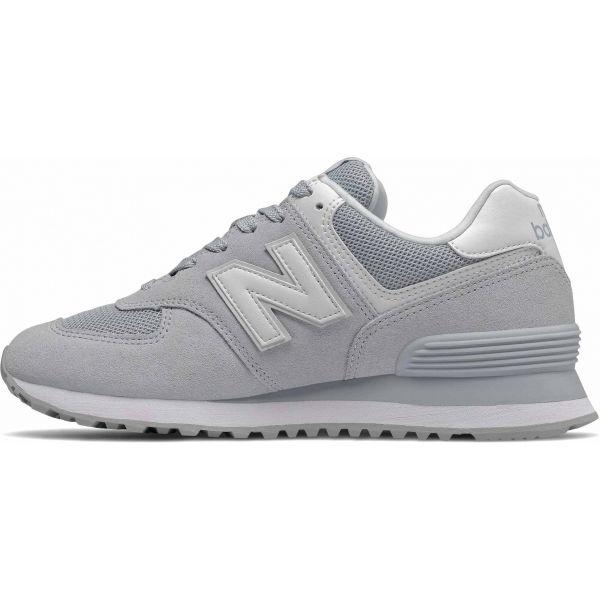 New Balance WL574OAA šedá 5 - Dámská volnočasová obuv