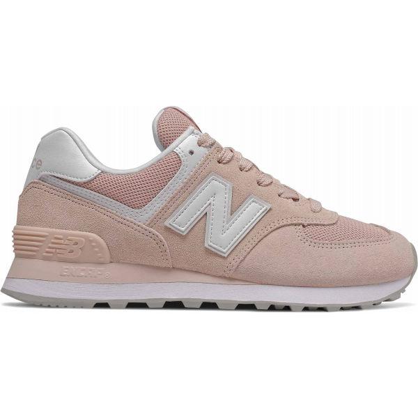 New Balance WL574OAB růžová 5 - Dámská volnočasová obuv
