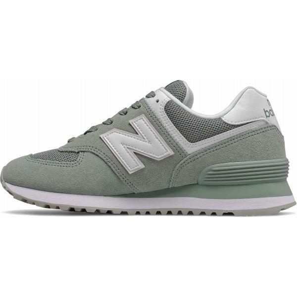 New Balance WL574OAD světle zelená 5.5 - Dámská volnočasová obuv