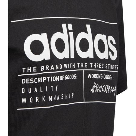Chlapčenské tričko - adidas YB BB T - 3