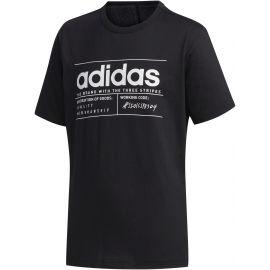 adidas YB BB T - Chlapčenské tričko