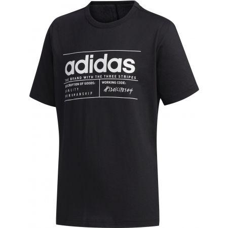 Chlapčenské tričko - adidas YB BB T - 1