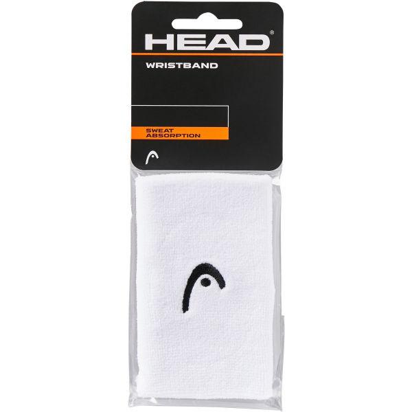 Head WRISTBAND 5 bílá NS - Potítka na zápěstí
