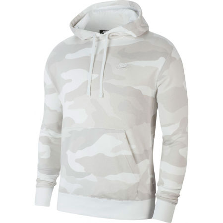 Nike NSW CLUB HOODIE PO FT CAMO M - Herren Sweatshirt