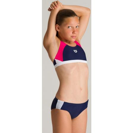 Dievčenské dvojdielne plavky - Arena G REN TWO PIECES - 8
