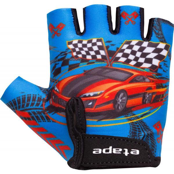 Etape TINY modrá 3-4 - Dětské cyklistické rukavice