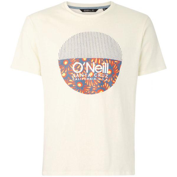 O'Neill LM BEDWELL T-SHIRT béžová L - Pánske tričko