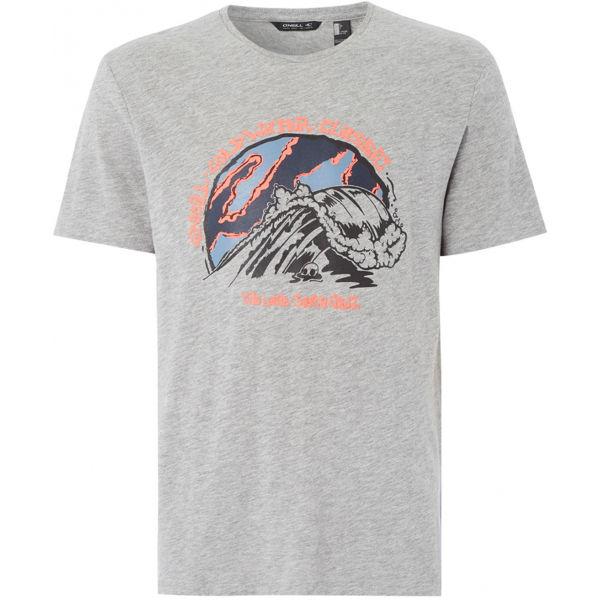 O'Neill LM COLD WATER CLASSIC T-SHIRT šedá M - Pánské tričko