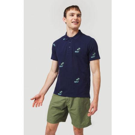 Мъжка поло тениска - O'Neill LM PALM AOP POLO - 3