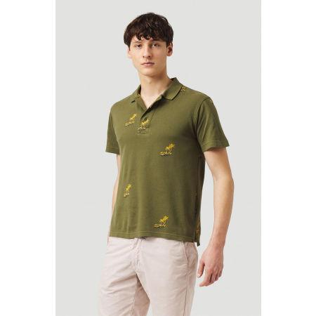 Pánske tričko polo - O'Neill LM PALM AOP POLO - 3