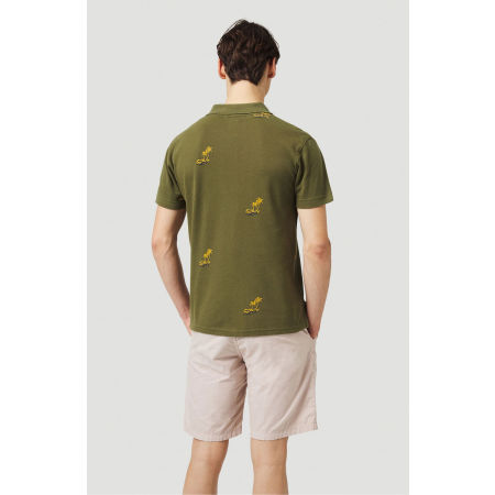 Pánske tričko polo - O'Neill LM PALM AOP POLO - 4
