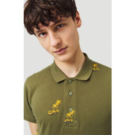 Pánske tričko polo - O'Neill LM PALM AOP POLO - 5