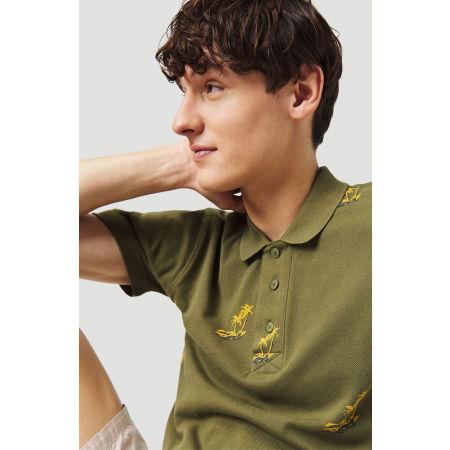 Pánske tričko polo - O'Neill LM PALM AOP POLO - 6