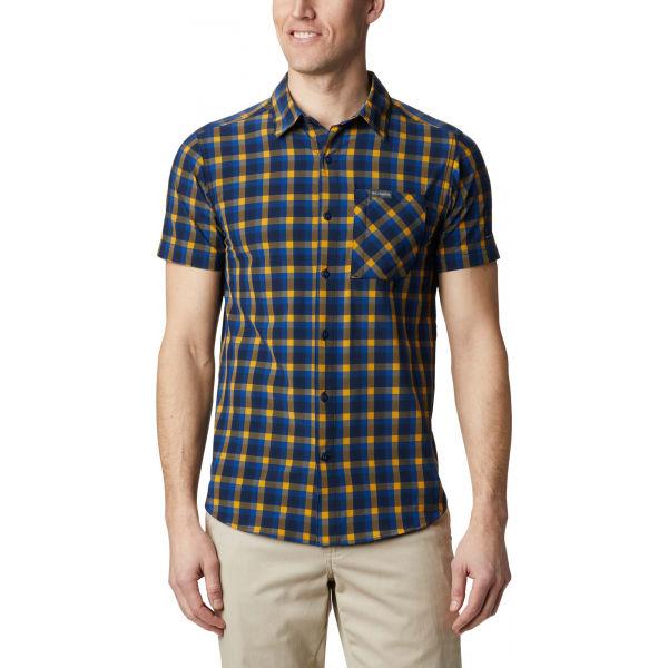 Columbia TRIPLE CANYON™ SS SHIRT žlutá XXL - Pánská košile