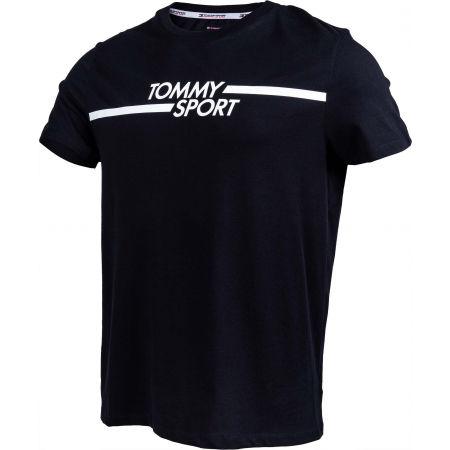 Men's T-shirt - Tommy Hilfiger CORE CHEST GRAPHICS TOP - 2
