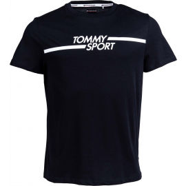 Tommy Hilfiger CORE CHEST GRAPHICS TOP - Pánske tričko