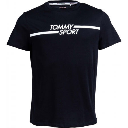 Pánske tričko - Tommy Hilfiger CORE CHEST GRAPHICS TOP - 1