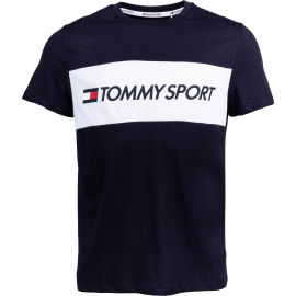 Tommy Hilfiger COLOURBLOCK LOGO TOP - Мъжка тениска