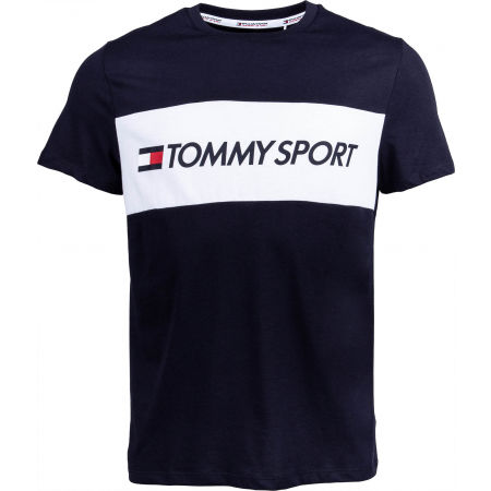 Tommy Hilfiger COLOURBLOCK LOGO TOP - Men's T-shirt