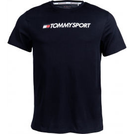 Tommy Hilfiger CHEST LOGO TOP - Мъжка тениска