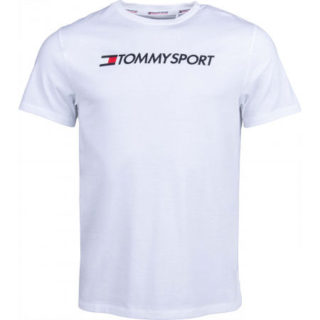 Men's T-shirt - Tommy Hilfiger CHEST LOGO TOP - 1