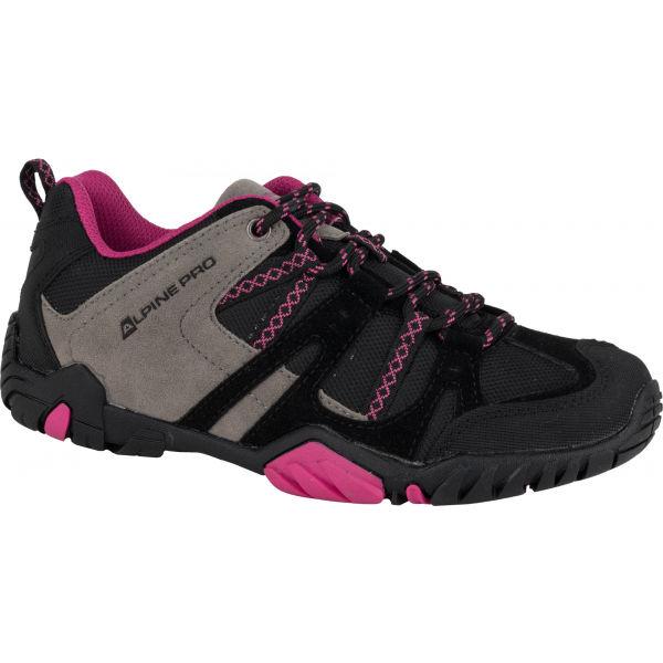 ALPINE PRO MAGGOTT růžová 38 - Dámská treková obuv