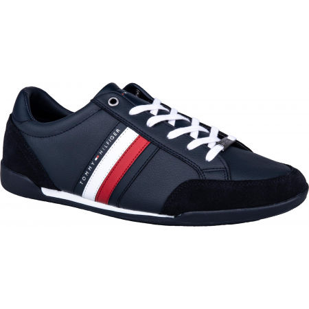 Tommy Hilfiger CORPORATE MATERIAL MIX CUPSOLE - Мъжки кецове