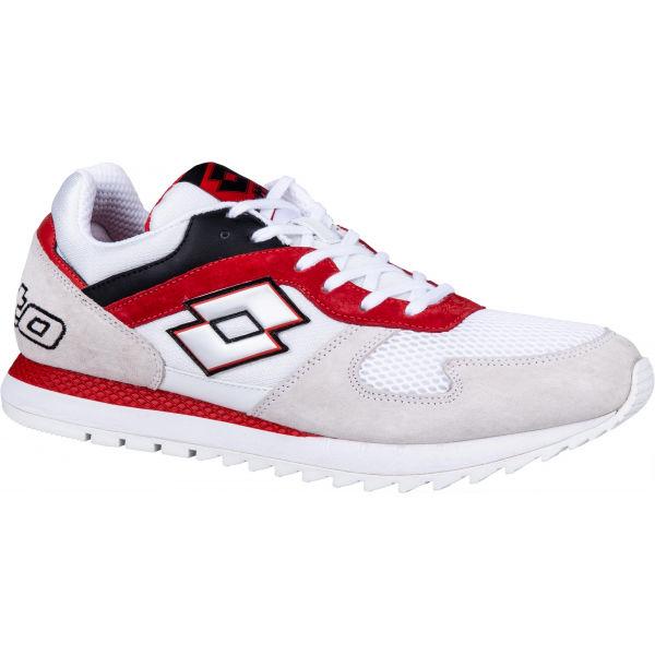 Lotto RUNNER PLUS 95 červená 10.5 - Pánská volnočasová obuv