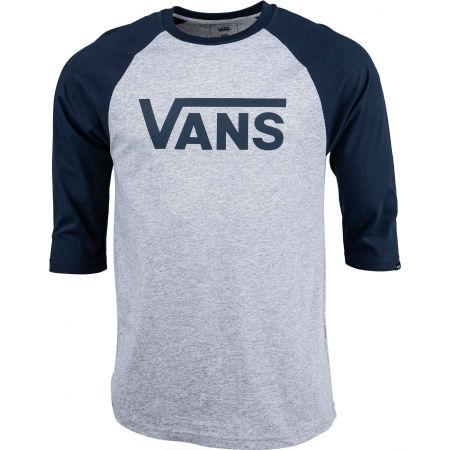 Vans CLASSIC RAGLAN - Pánske tričko s trojštvrťovým rukávom