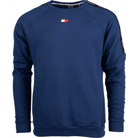 Tommy Hilfiger FLEECE TAPE CREW - Hanorac de bărbați