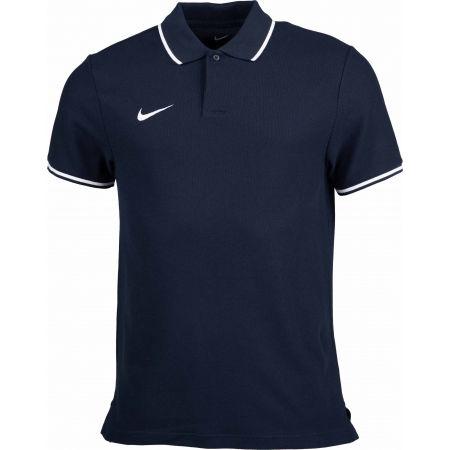 Pánské polotričko - Nike POLO TM CLUB19 SS M - 1