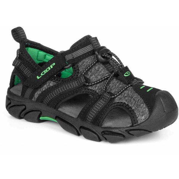 Loap INDER černá 27 - Dětské sandály
