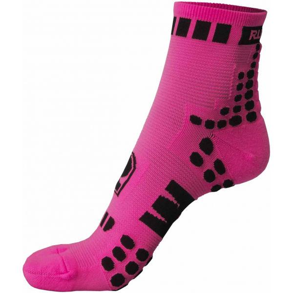 Runto RT-DOTS růžová 40-43 - Sportovní ponožky