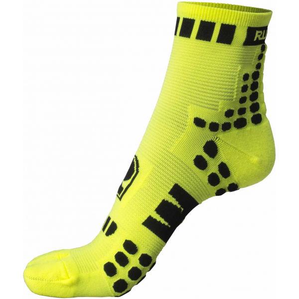 Runto RT-DOTS žlutá 35-39 - Sportovní ponožky