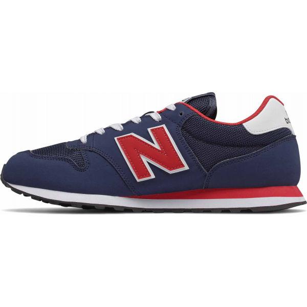 New Balance GM500TRT modrá 7.5 - Pánská volnočasová obuv